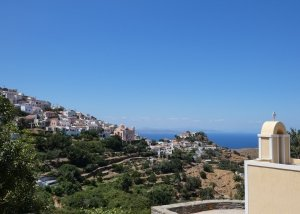 Stunning view on Ioulis, Kea itinerary, Cyclads, Greece