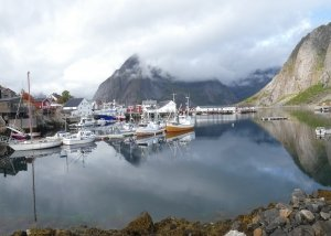 Harbour view on Hamnøy, Moskenes, Lofoten itinerary, Norway